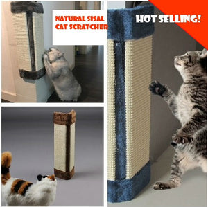 💖FAST DELIVERY💖LOCAL SELLER💖Cat Scratcher Board for Wall Corner  with Cat Catnip Pet Toy Natural