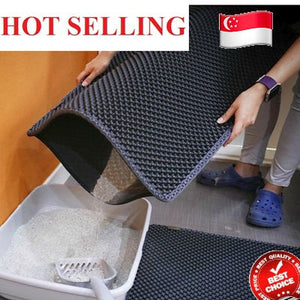 💖LOCAL SELLER💖FAST DELIVERY💖Cat Litter Trapping Mat ( Large Size)