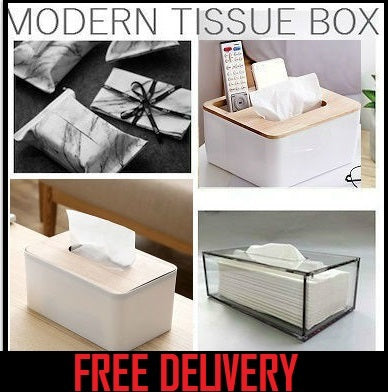 💖LOCAL SELLER💖FREE SHIPPING!💖MODERN TISSUE BOX