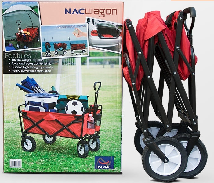 💖LOCAL SELLER💖FAST DELIVERY💖Foldable Wagon Stroller Collapsible Outdoor Camp Utility
