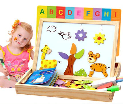 Magnetic Stickers Cardboard Doublesided White And Black Board