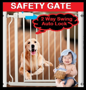 ★100% Orignal Safety Gate Pets/Kids*Door Fence★
