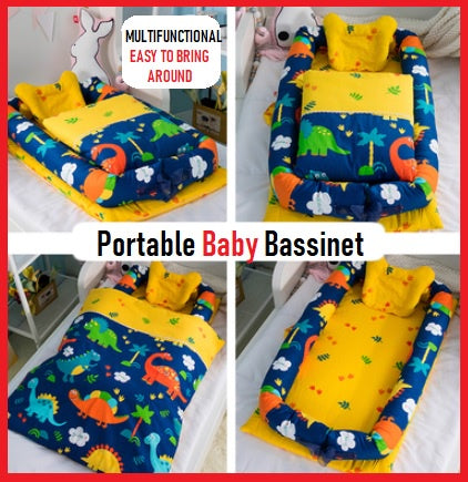 Newborn Baby Portable Mattress Multifunctional Nursery Foldable Bed/Bassinet Basket