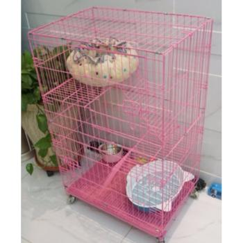 Pink Cat Cage