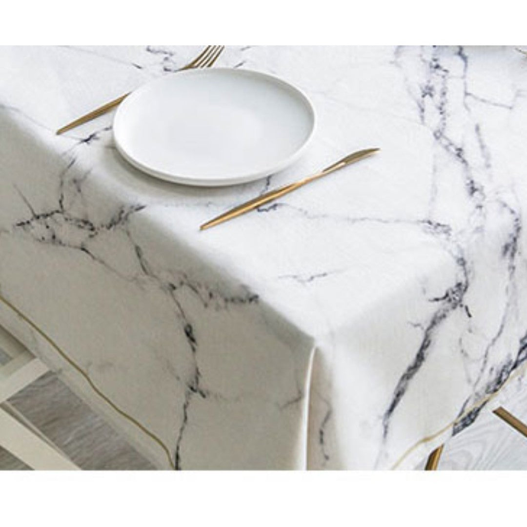 Marble Table Cloth