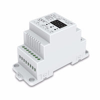 DIN Rail Mount 4 Channel Constant Voltage DMX 512 LED Driver