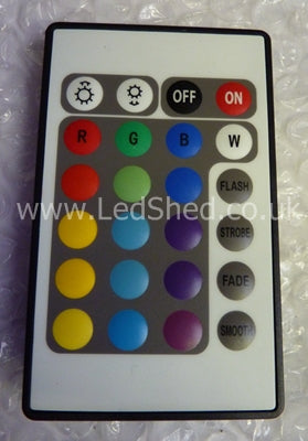 RGB LED Controller with 22 Key Infra Red Remote Control