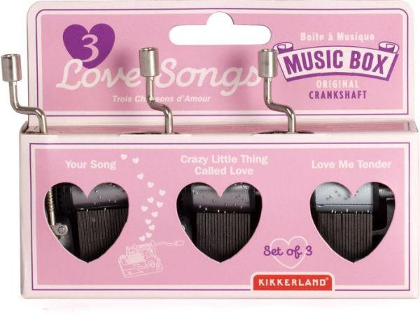 3 Love Song Music Box