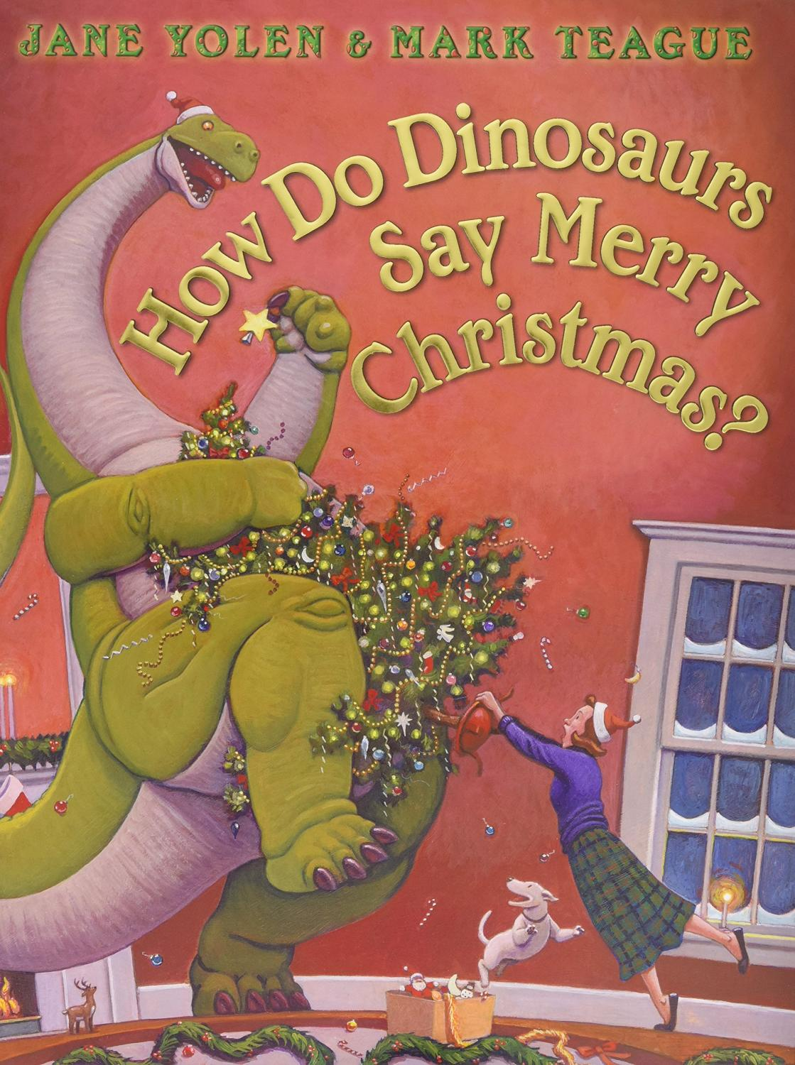 How Do Dinos Say Merry Christm
