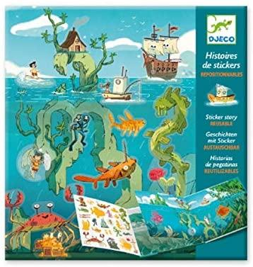 Adventure at Sea Sticker Story