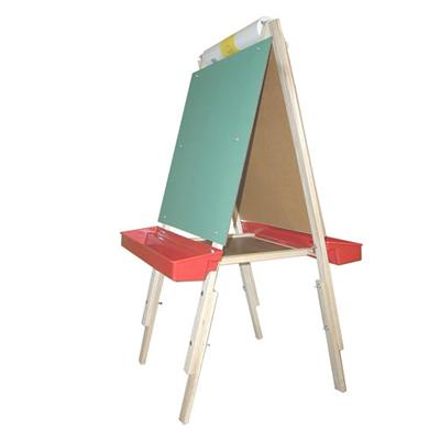 Adjustable Easel Chalk/White Board