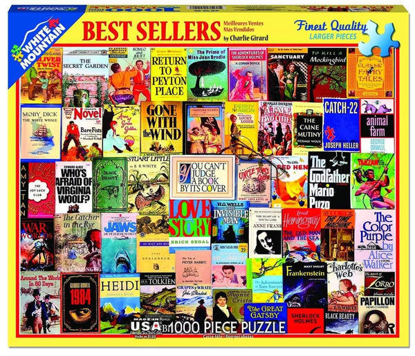 Best Sellers 1000pc Puzzle