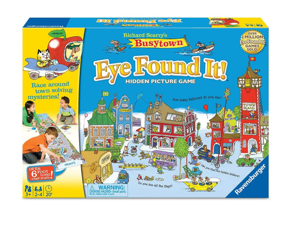 Busytown I Found It Game