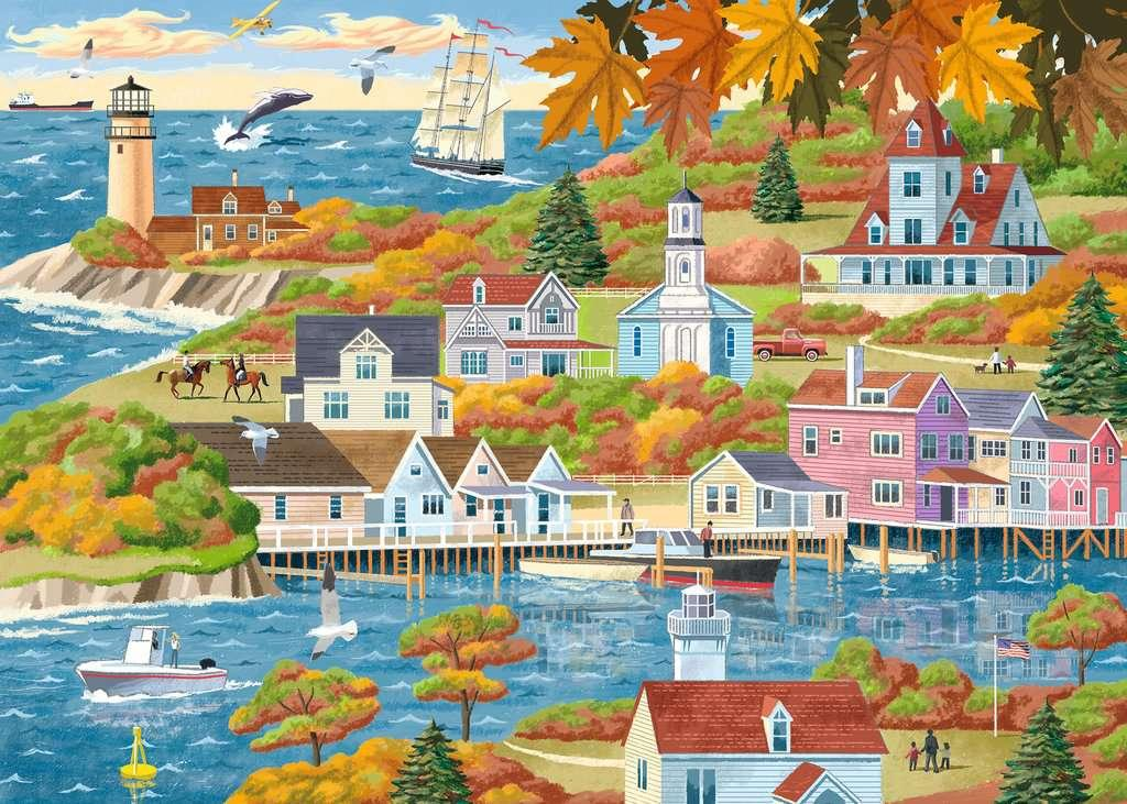 By Land and Sea 500Pc Puzzle