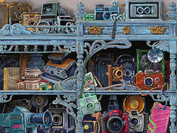 Camera Evolution 300pc Puzzle