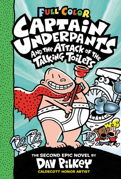 Captain Underpants and the Attack of the Talking Toilets: Color Edition