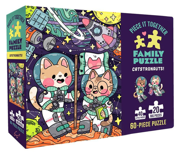 Catstronauts 60pc Family Puzzle