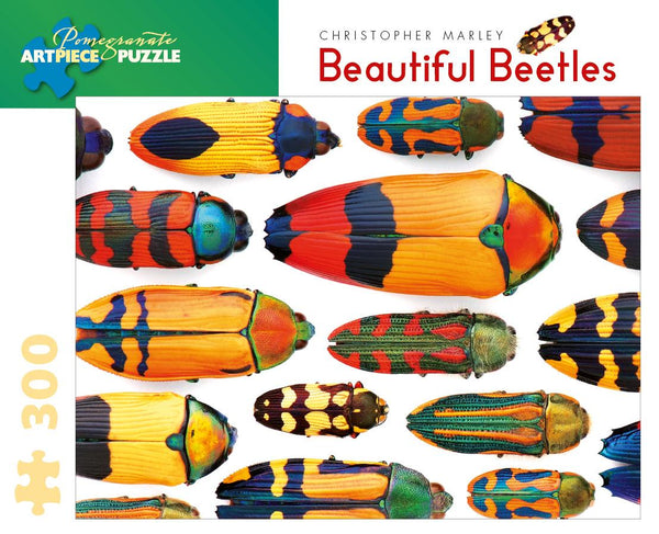 Christopher Marley: Beautiful Beetles 300pc Puzzle