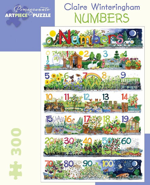 Claire Winteringham: Numbers 300pc Puzzle