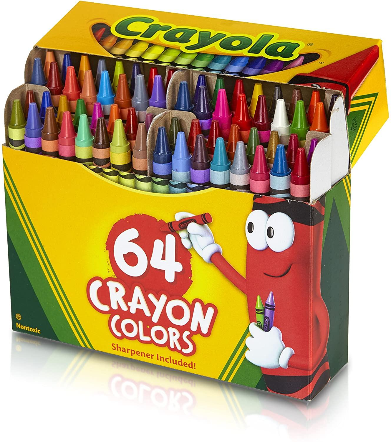 Crayola Crayon 64ct Box