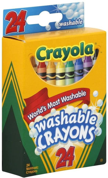 Crayola Washable Crayons 24ct. Pack
