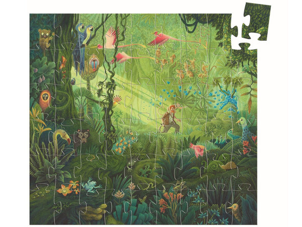 In the Jungle Silhouette 54pc. Puzzle