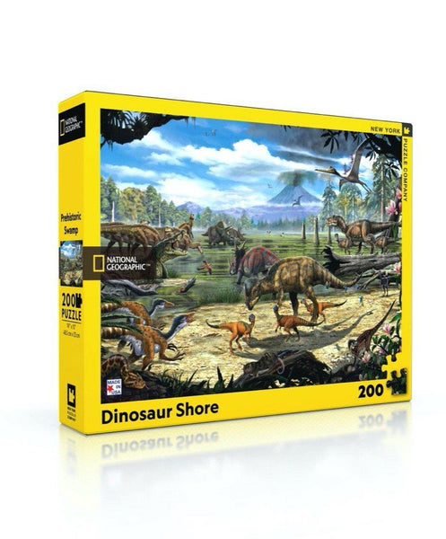 Dinosaur Shore 200pc Puzzle