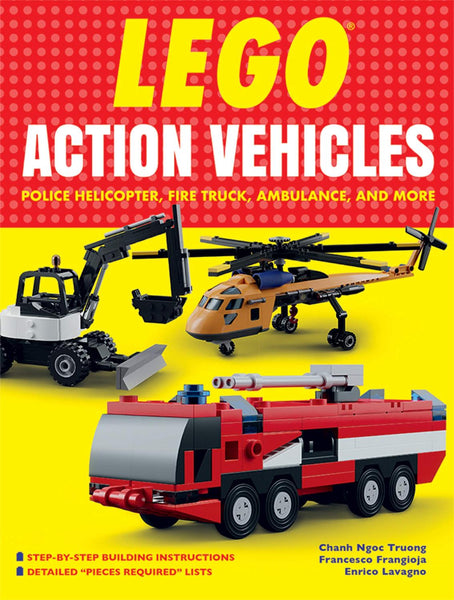 LEGO® Action Vehicles: Police Helicopter, Fire Truck, Ambulance, and More