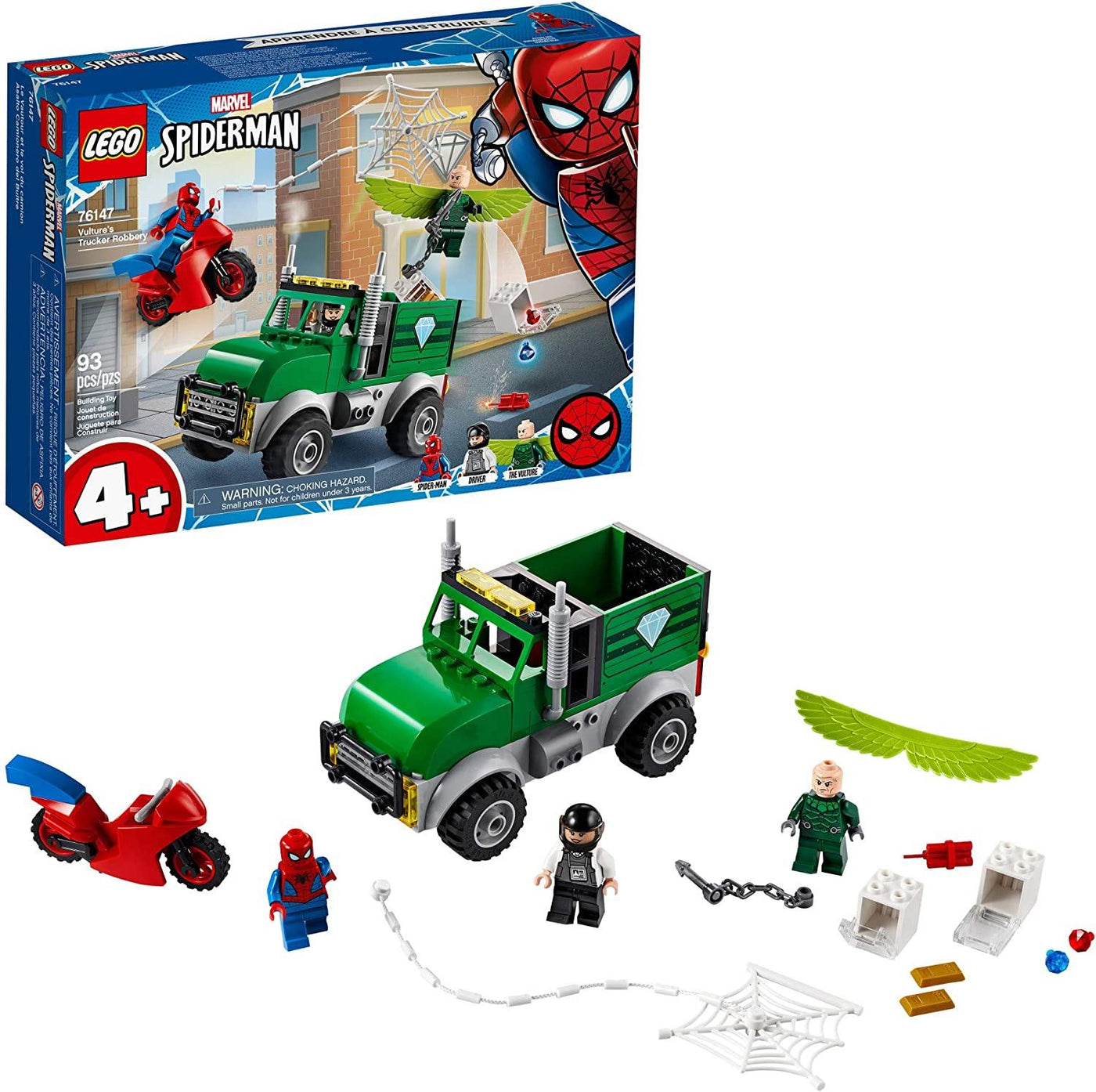 LEGO Marvel Spider-Man Vulture's Trucker Robbery