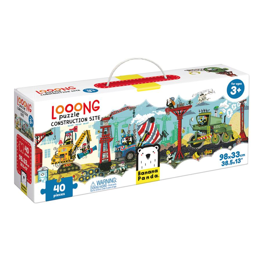 Construction 40pc Looong Puzzle