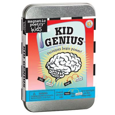 Magnetic Poetry Kid Genius Kit