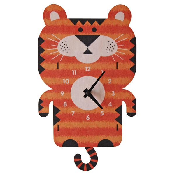 Tiger 3D Pendulum Clock