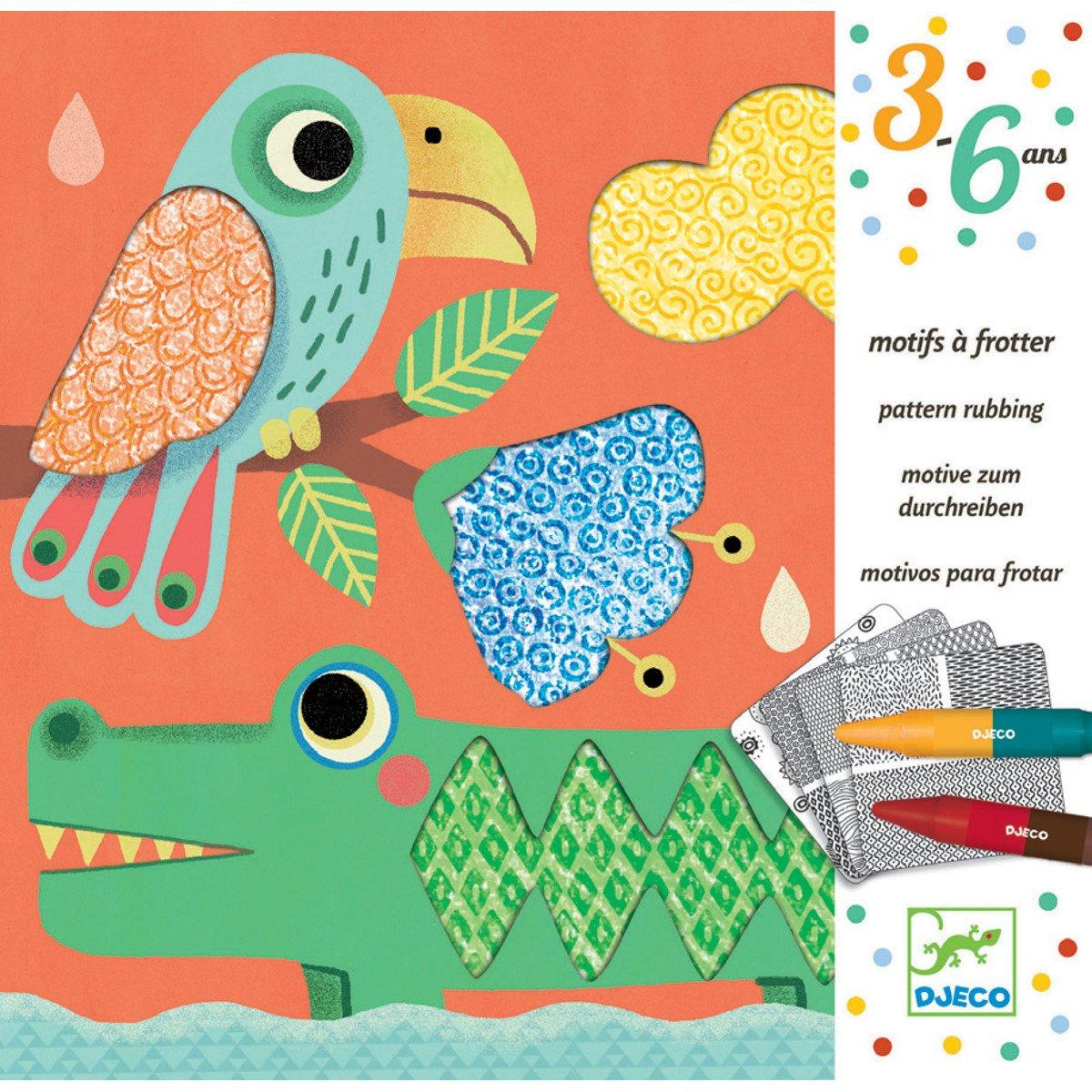 Magali Pattern Rubbing Art KIt