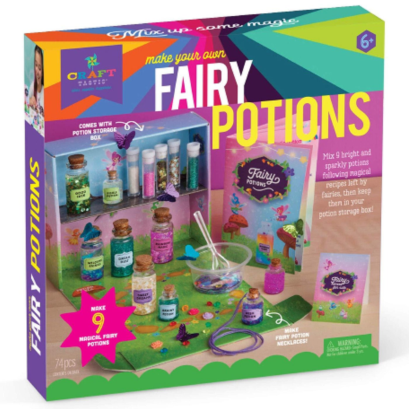 Make your own Fairy Potions Kit