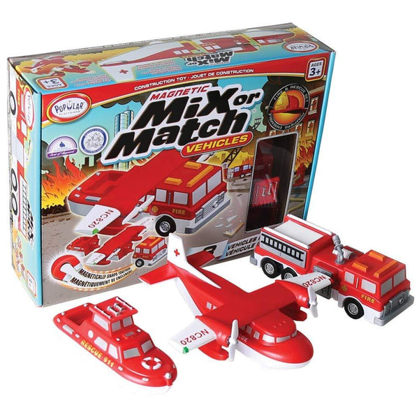 Mix or Match Rescue Vehicles