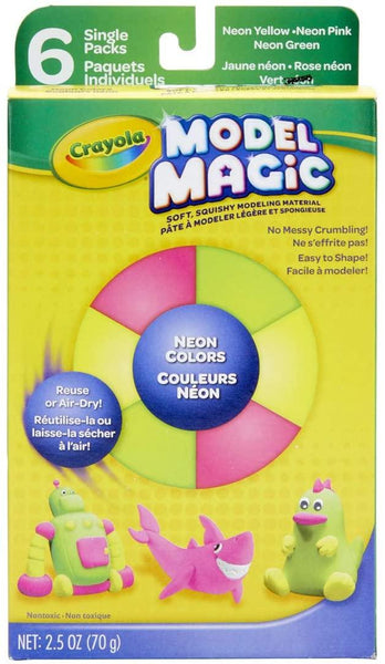 Model Magic Assorted Neon Color Pack