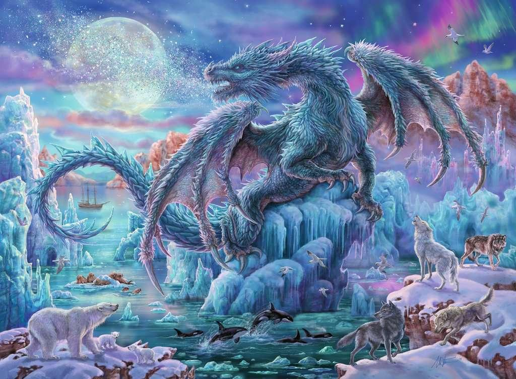 Mystic Dragons 500pc Puzzle