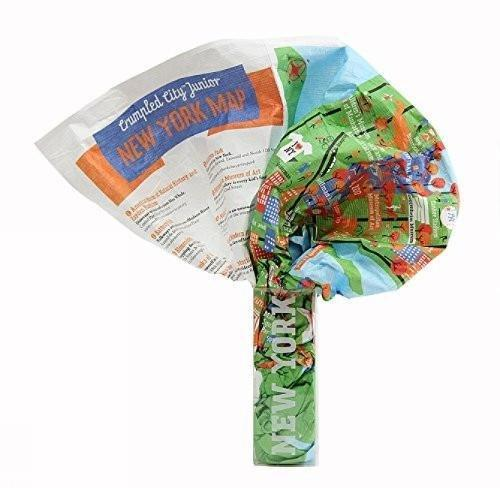 New York Crumpled Junior Map