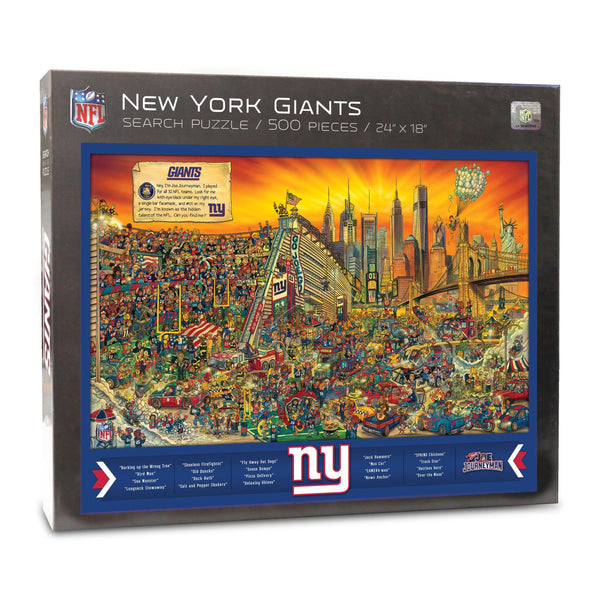 New York Giants 500pc Search Puzzle