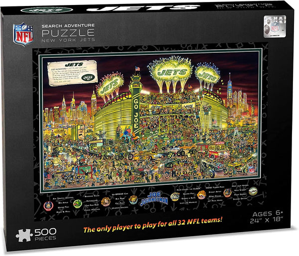 New York Jets 500pc Search Puzzle