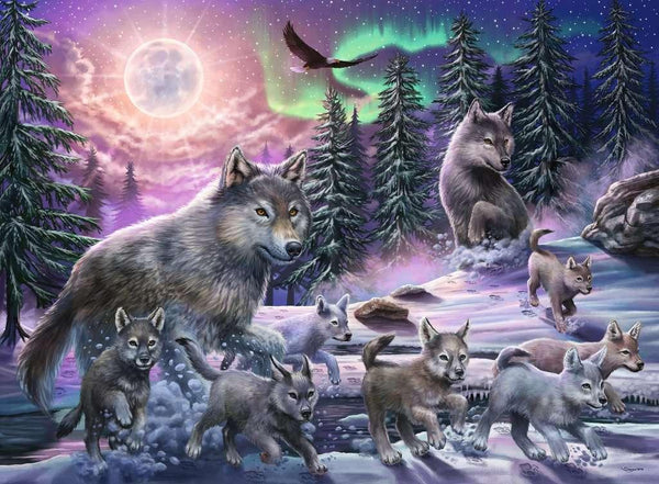 Nothern Wolves 150pc Puzzle