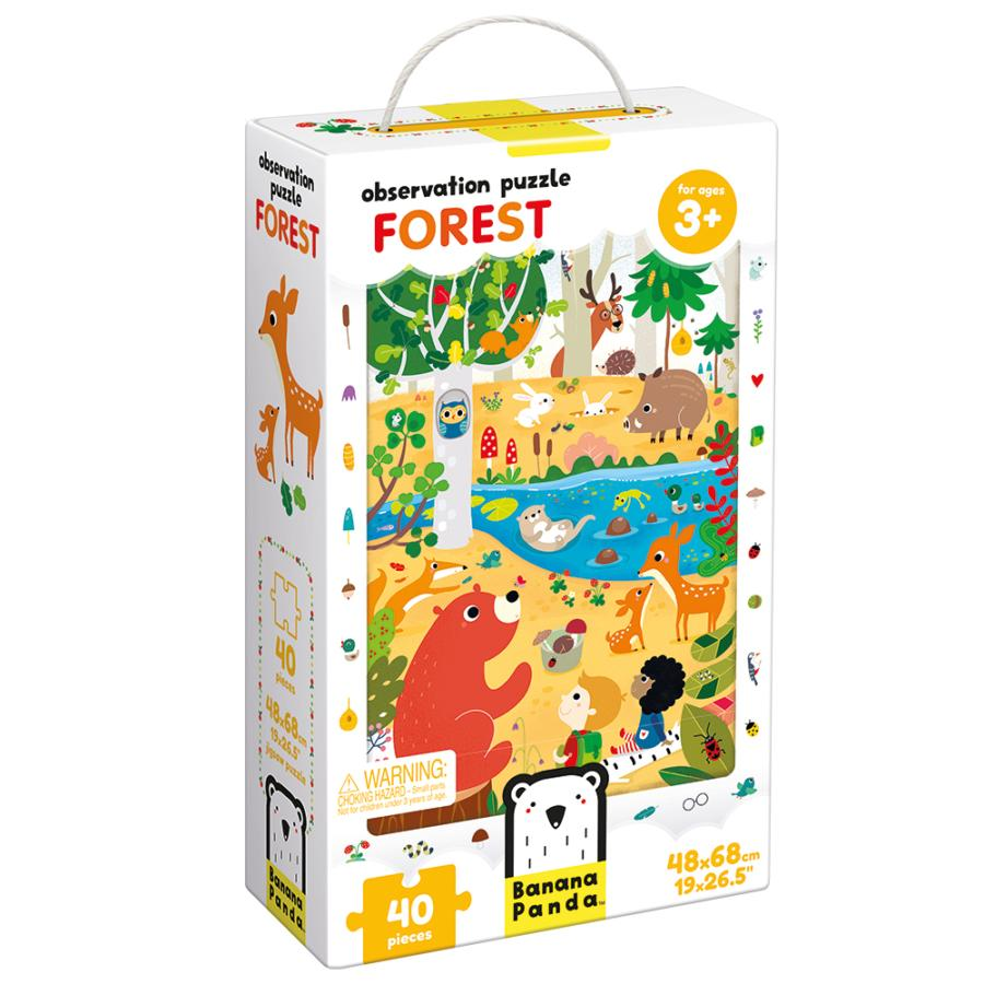 Forest Observation Puzzle 40pc