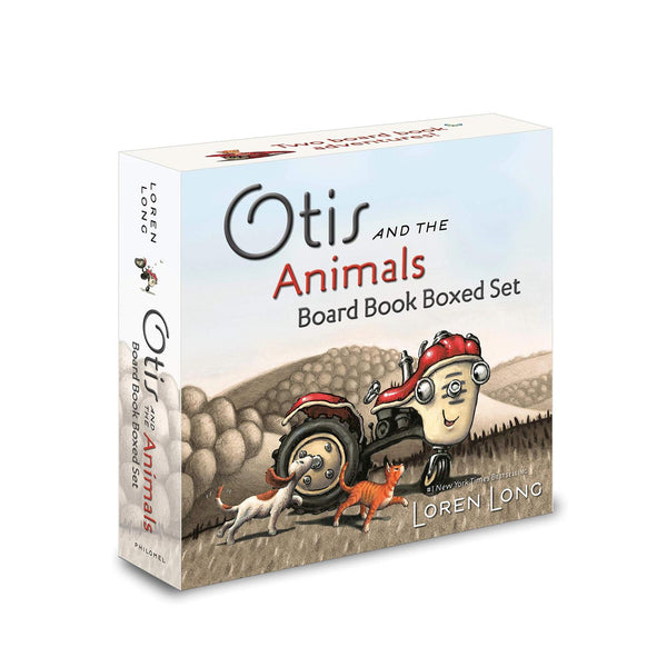 Otis and the Animals Board Book Set