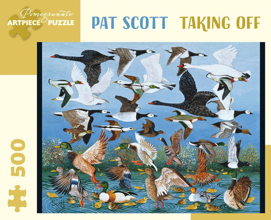 Pat Scoot: Taking Off 500pc. Puzzle