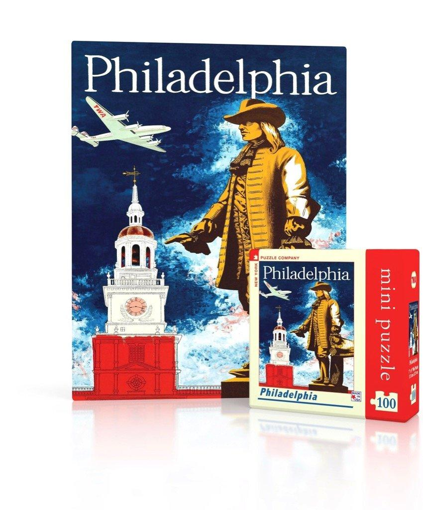 Philadelphia 100pc Mini Puzzle