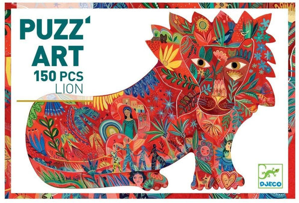 Puzz Art Lion 150pc Puzzle