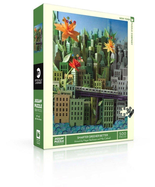 Smarter Greener Better 500pc Puzzle