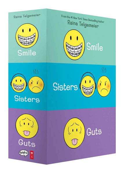 Smile, Sisters, and Guts: Boxed Set