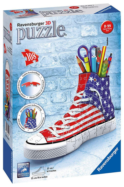 Sneaker American Style 108pc 3-D Puzzle