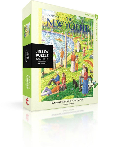 Sunday Afternoon in Central Park 1000pc Puzzle